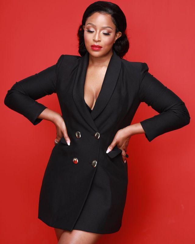 Jessica Nkosi flaunts debuts her new look – Photos