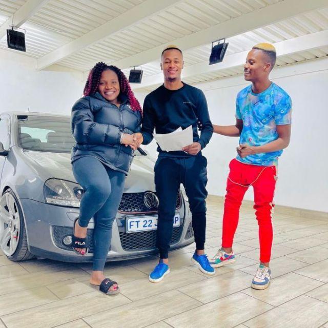 Makhadzi's dancer Limpopo Boy buys himself a brand new car – Photo