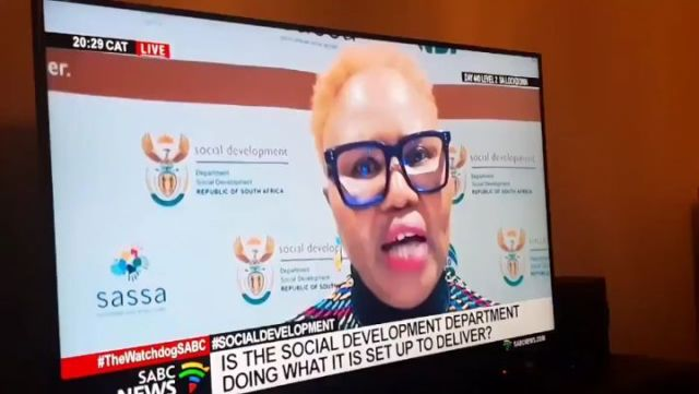 VIDEO: Load Shedding Hits Top ANC Minister While On Live Zoom Interview