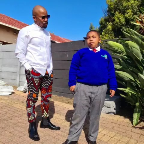 Diep City Actor Mduduzi Mabaso Gushes Over His Son