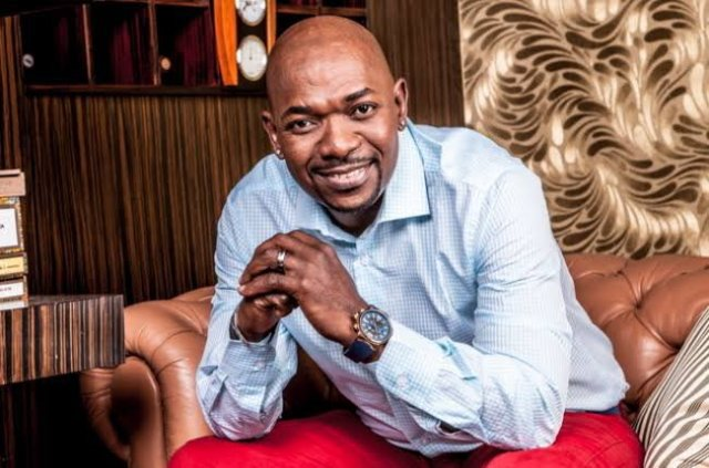 Menzi Ngubane helps out from the grave