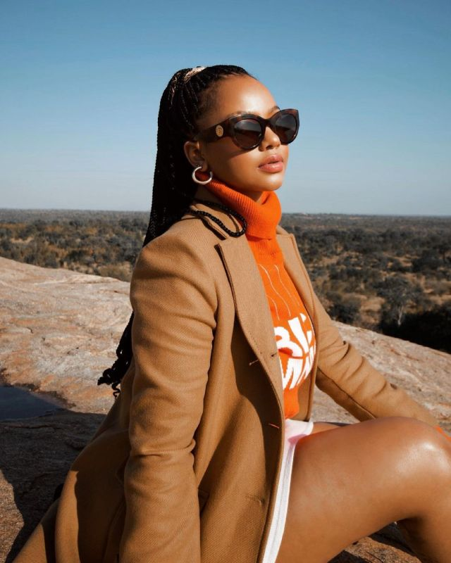 PICS: Inside Mihlali Ndamase's Weekend Getaway