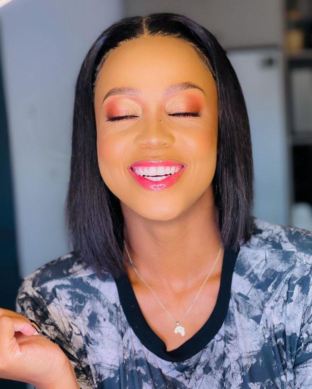 Actress Ntando Duma celebrates another win