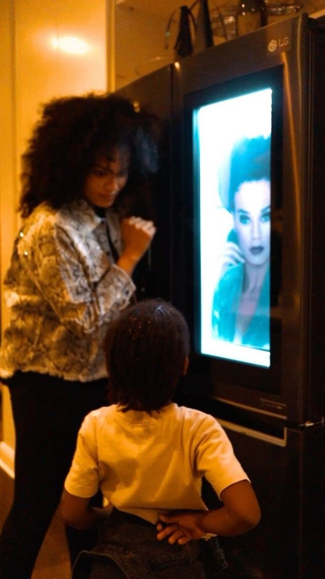 Wtach: Actress Pearl Thusi shows off R47 000 brand-new fridge
