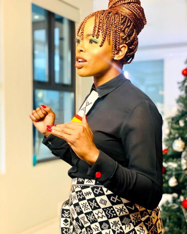SA Idols judge Unathi shows off her hero – Video