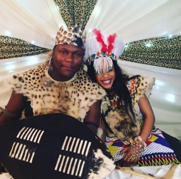 Zandie Khumalo's hubby caught in maid's DM's