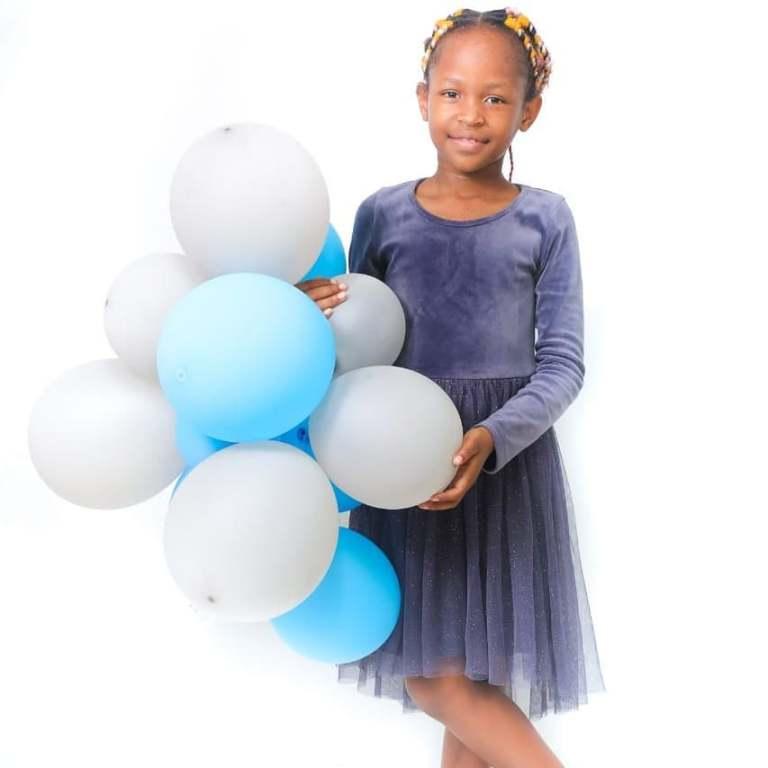Dr Malinga celebrates daughter's 8th birthday