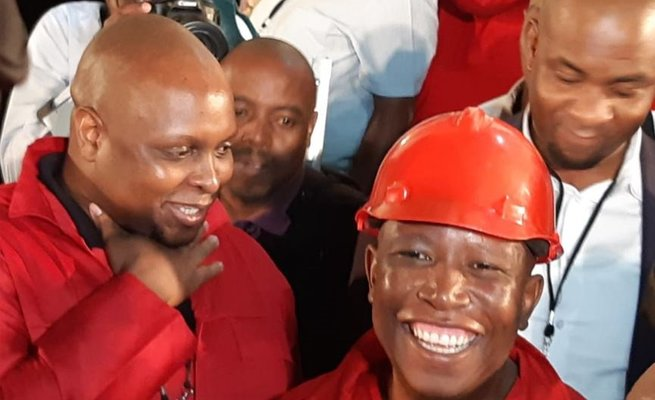 EFF leader Julius Malema to fire MPS and councillors