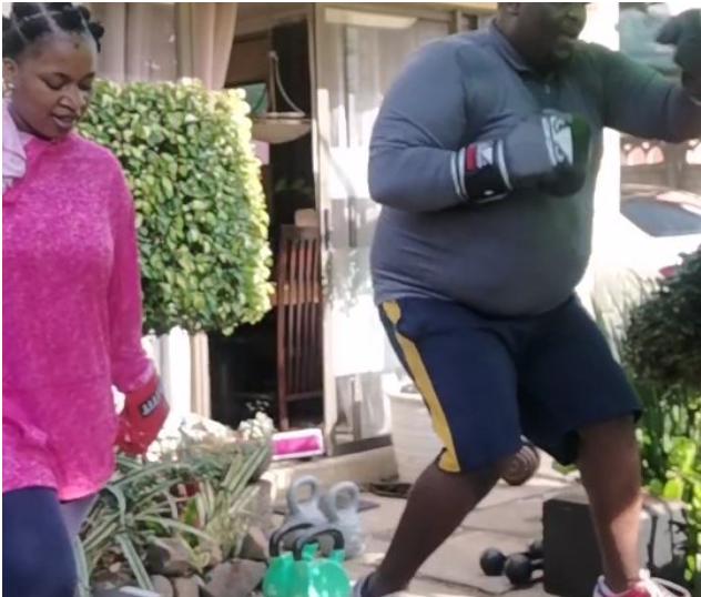 RAPPER ZAKWE STARTS WEIGHT-LOSS JOURNEY – VIDEO