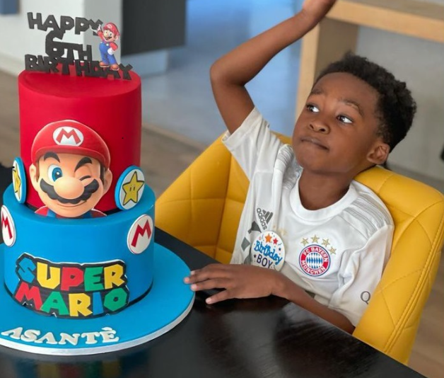 PICS: ENHLE MBALI AND BLACK COFFEE CELEBRATE SON'S 6TH BIRTHDAY