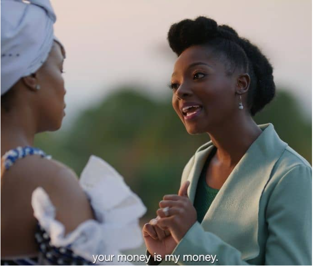 #THERIVER: NYAKALLO SHOWS HER TRUE COLOURS