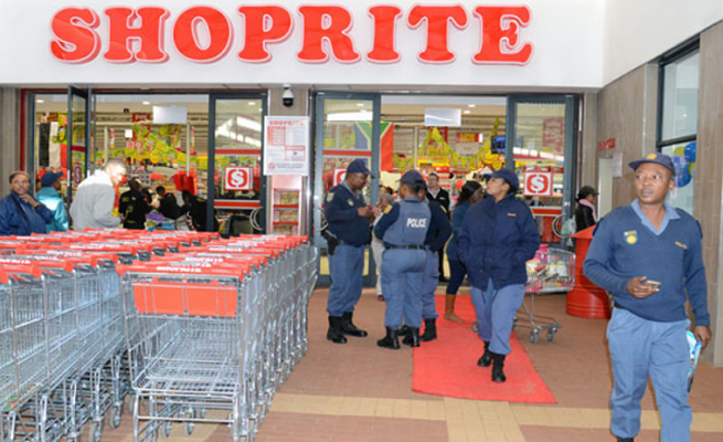 Dear thieves, never steal at Shoprite, they now have very tight security, over 200 thieves arrested