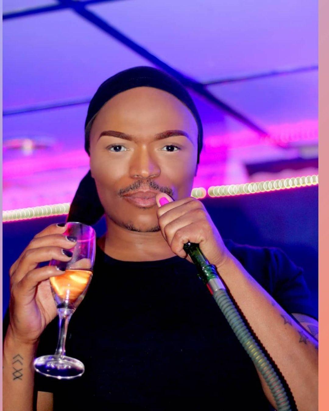 Somizi Gushes Over Thando Thabethe's Beauty
