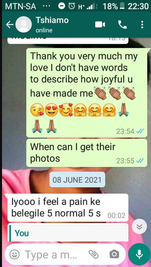 Stop sending donations; Tembisa 10 dad doesn't know where the babies are – Leaked chats show 1 baby
