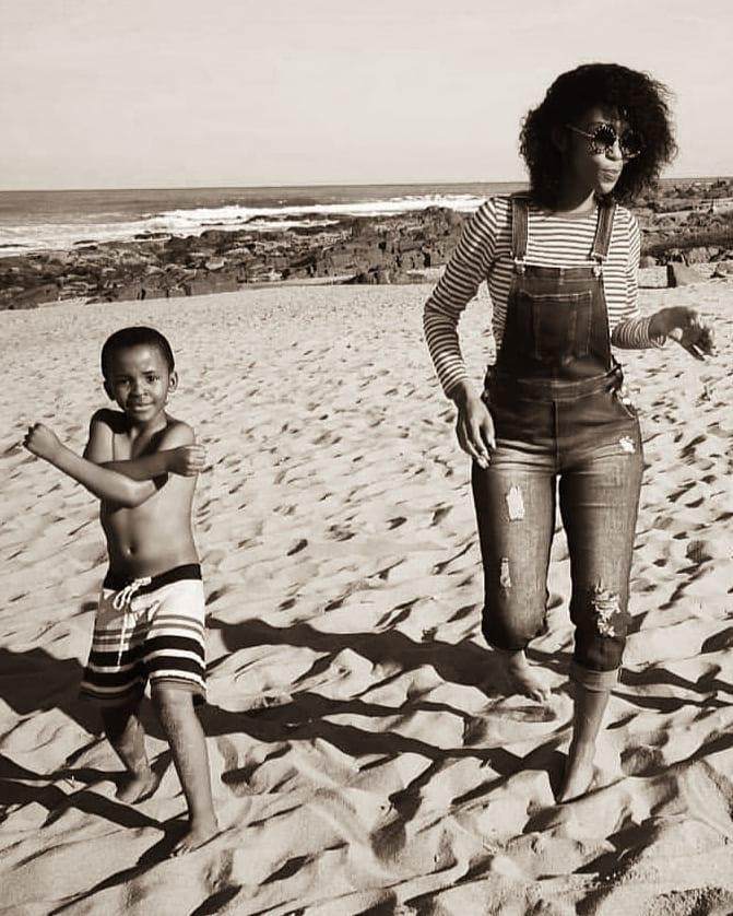 PICS: Singer Nhlanhla Nciza celebrates son's birthday