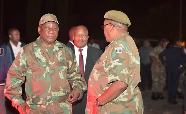 President Cyril Ramaphosa visits KwaZulu-Natal