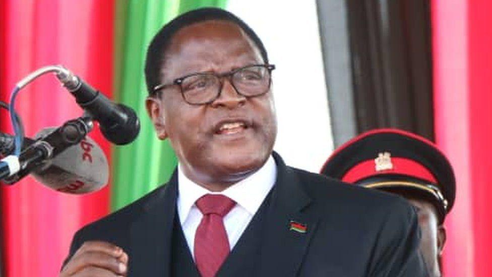 Malawian President Lazarus Chakwera Travels To UK For Virtual Conference