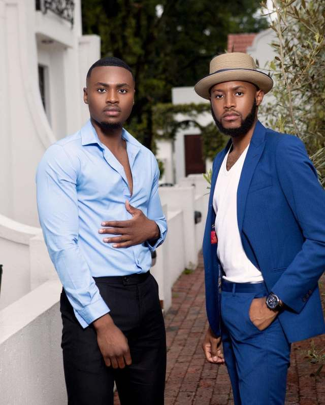 MOHALE SPENDS BIRTHDAY WITH ACTOR WISEMAN ZITHA