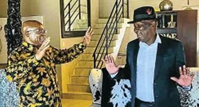 Bheki Cele in trouble with Ramaphosa for allowing gatherings at Zuma's house – Zuma to lose security