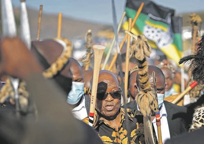 president Jacob Zuma fumes – I won't go to jail