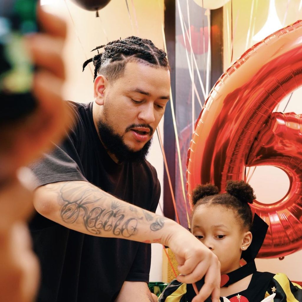 Watch: DRAMA AS AKA AND DJ ZINHLE HOST SEPARATE BIRTHDAY PARTIES FOR DAUGHTER KAIRO FORBES
