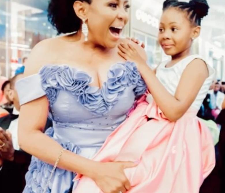 TV personality Basetsana Kumalo CELEBRATES HER DAUGHTER'S BIRTHDAY