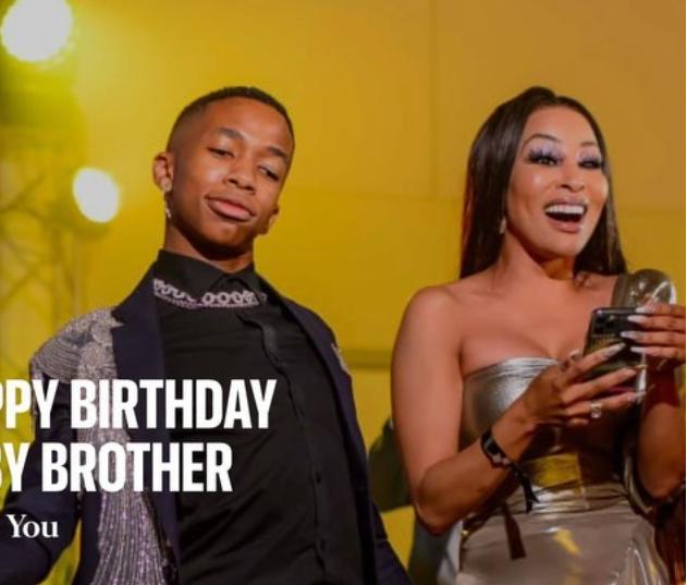 Watch: KHANYI MBAU'S SWEET BIRTHDAY TRIBUTE TO LASIZWE