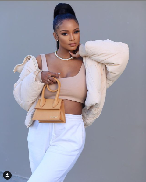 Watch: MODEL AYANDA THABETHE SHOWS OFF HER NEW MAN