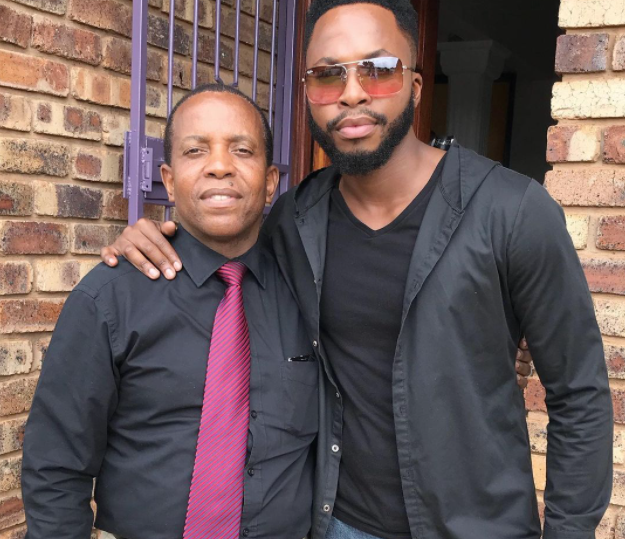 ACTOR NAY MAPS HONOURS LATE FATHER
