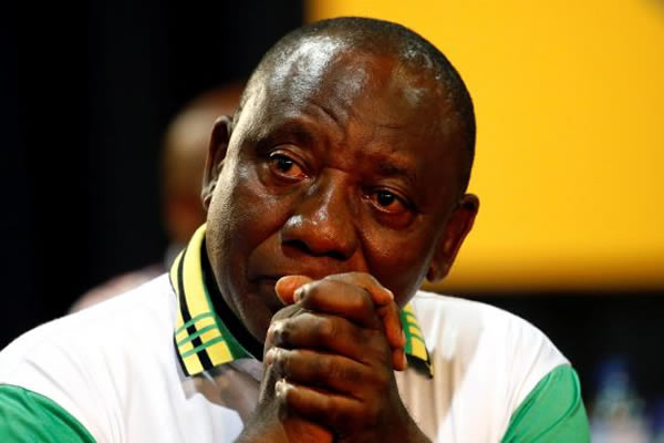 President Ramaphosa to organize a National Day Of Prayer as fellow South Africans show him flames