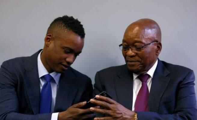 Watch: Duduzane Zuma's speech on Jacob Zuma's arrest sets tongues wagging