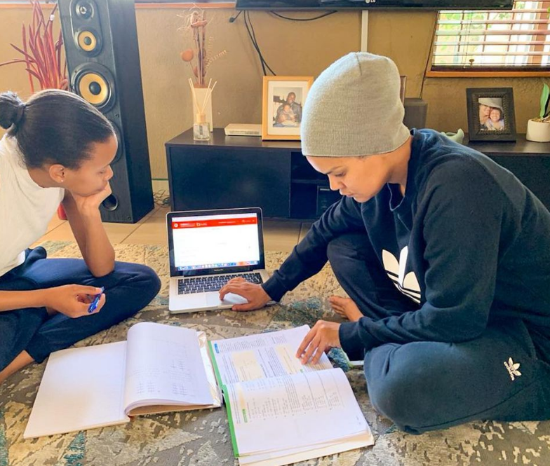 PHUMEZA MDABE'S DAUGHTER LAUNCHES OWN YOUTUBE CHANNEL