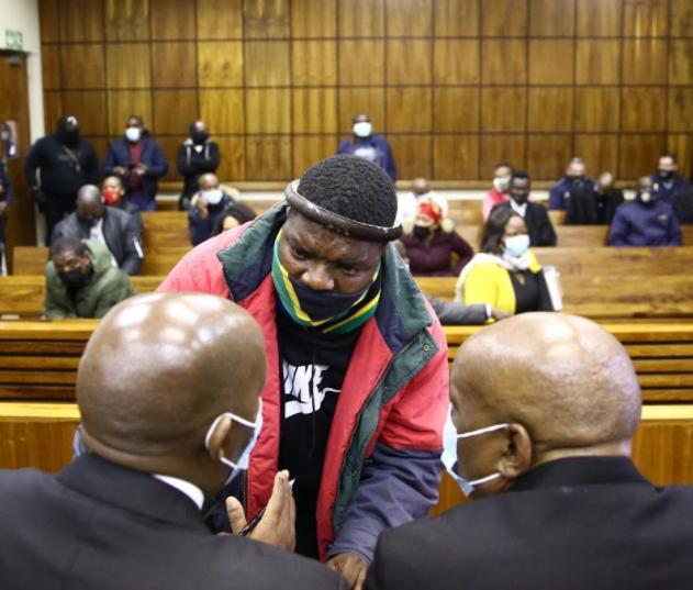 NGIZWE MCHUNU APPEAR IN COURT