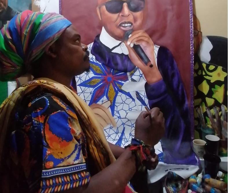MZANSI REACT TO RASTA'S PORTRAIT OF STEVE KEKANA