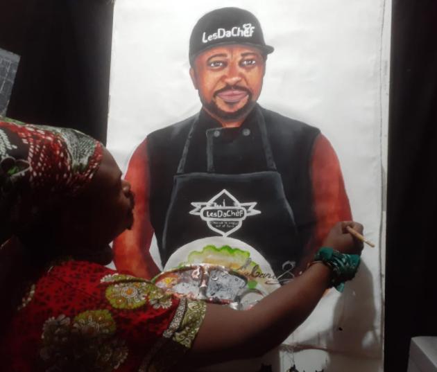 MZANSI REACT TO RASTA'S PORTRAIT OF LATE CELEBRITY CHEF LESDACHEF