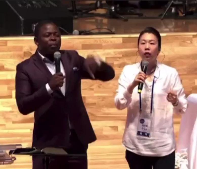 BUSHIRI OPENS A CHURCH IN CHINA