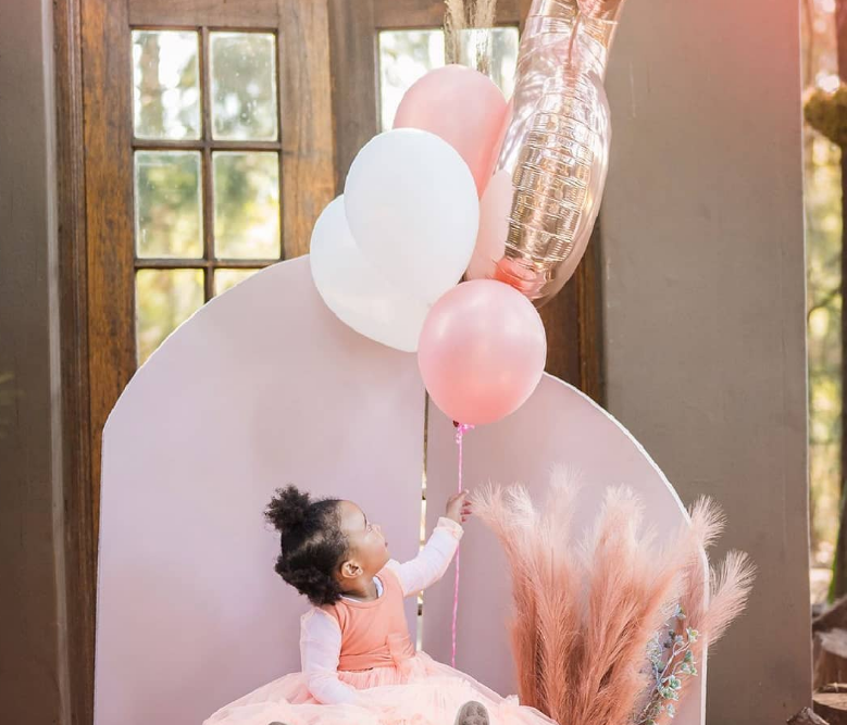 CASTER SEMENYA CELEBRATES DAUGHTER'S SECOND BIRTHDAY