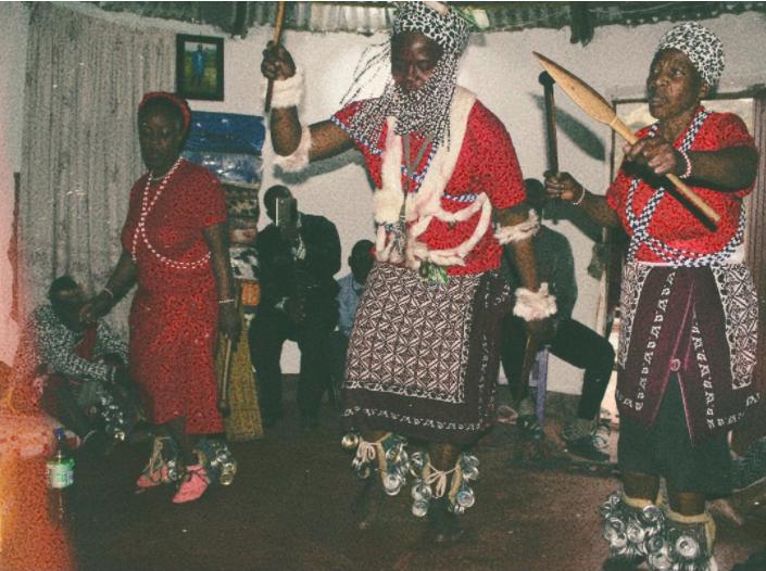 Pics: DJ CULOE DE SONG BECOMES A SANGOMA