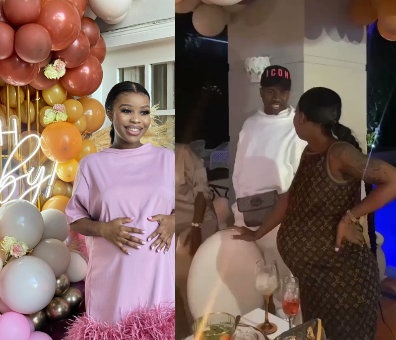 Watch: SITHELO SHOZI'S SURPRISE BABY SHOWER FOR HER SECOND CHILD – MAMKHIZE'S SON ANDILE MPISANE SUSPECTED TO BE THE FATHER