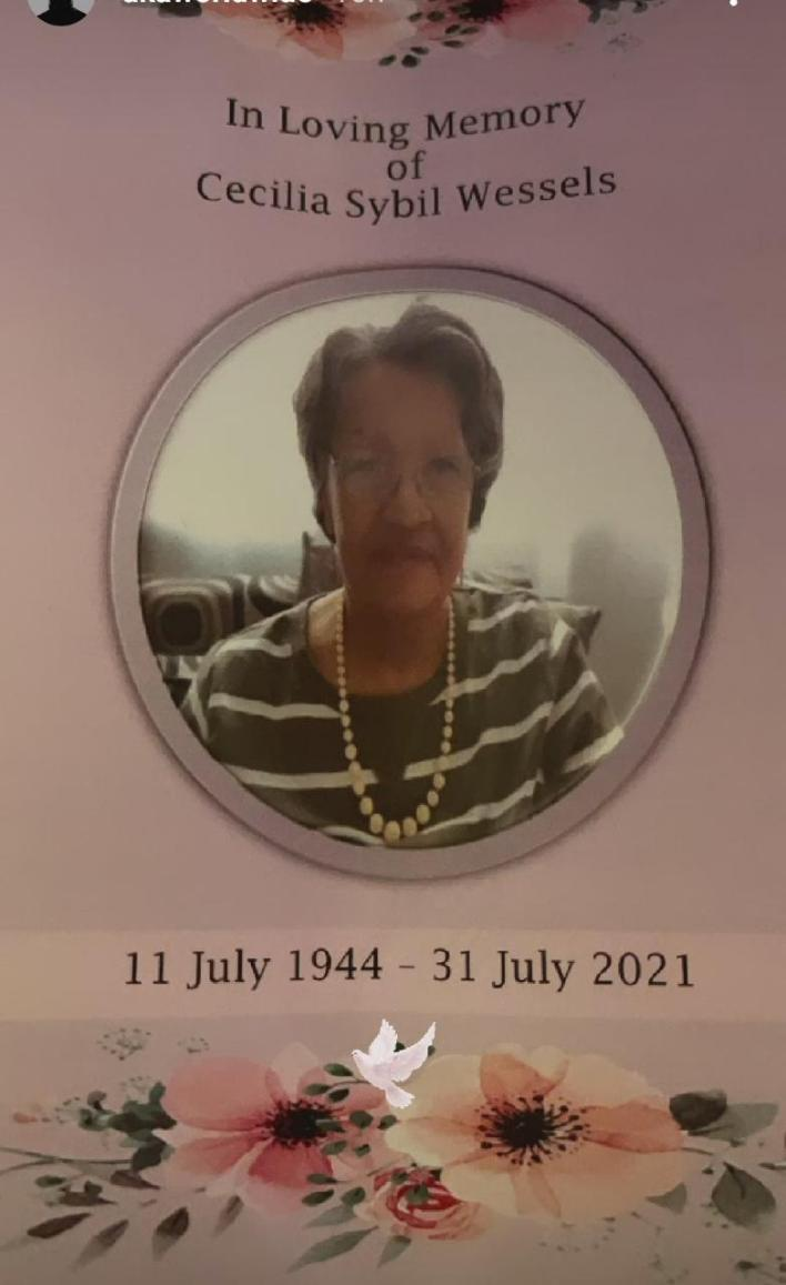 RIP Ma – AKA mourns