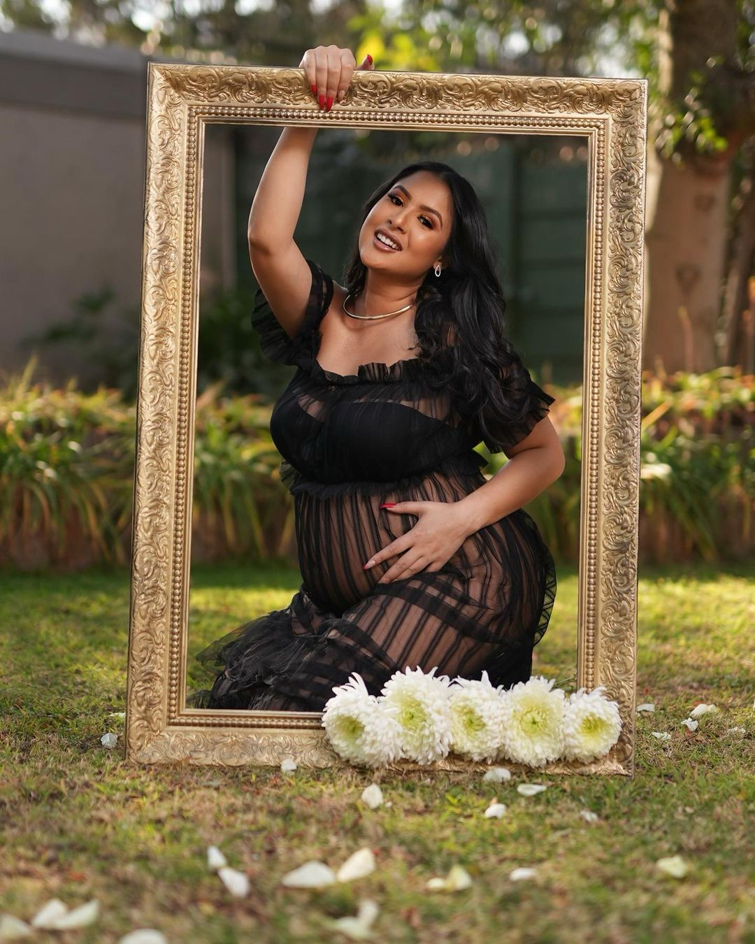 Da Les and AKA's alleged side chick Aurea Alexander expecting baby number 2
