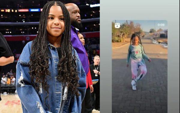 Video: Beyonce's daughter Blue Ivy dancing to Amapiano Ekasi?