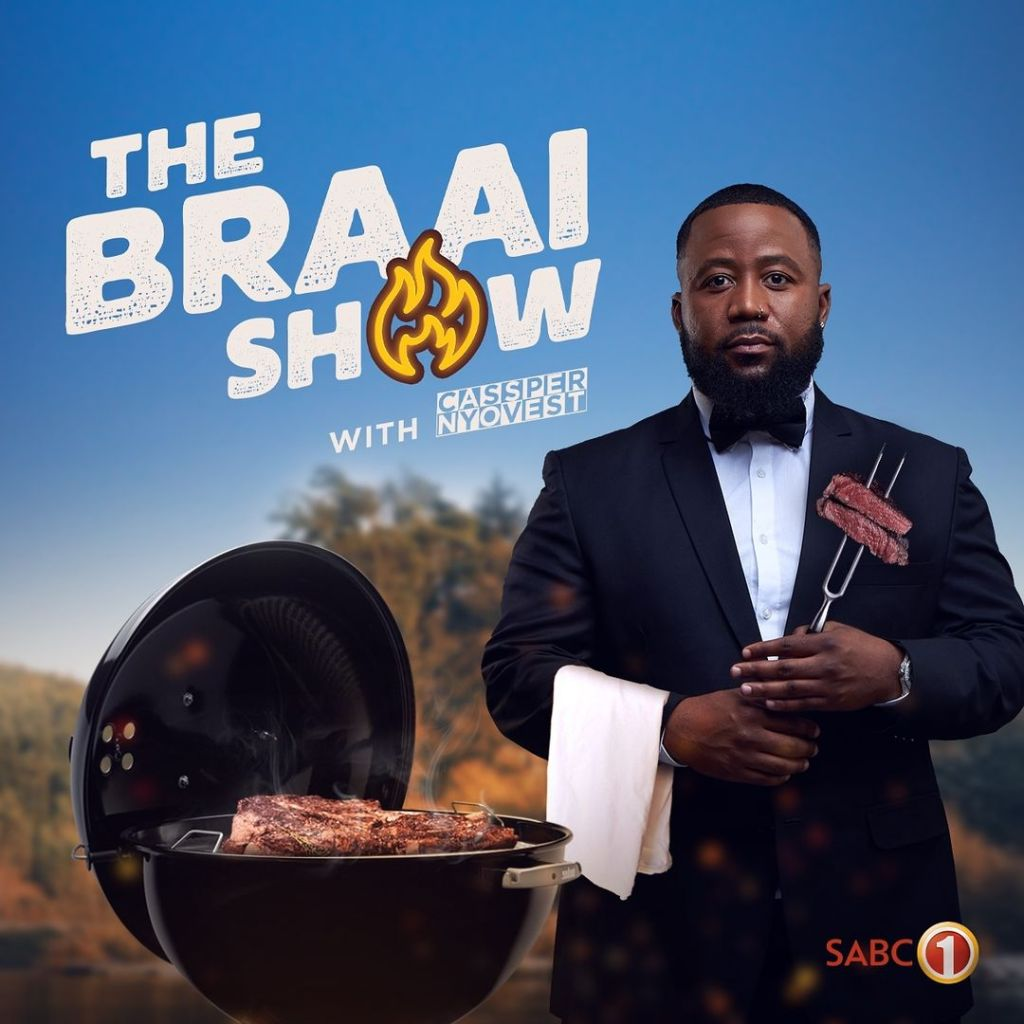 Cassper Nyovest takes over The Braai Show from AKA