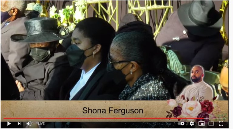 Touching scenes from Shona Ferguson's funeral: Connie Ferguson and their daughter Ali spotted