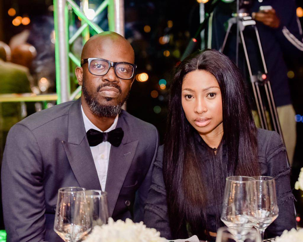 Photo: Black Coffee and Enhle Mbali finally at peace
