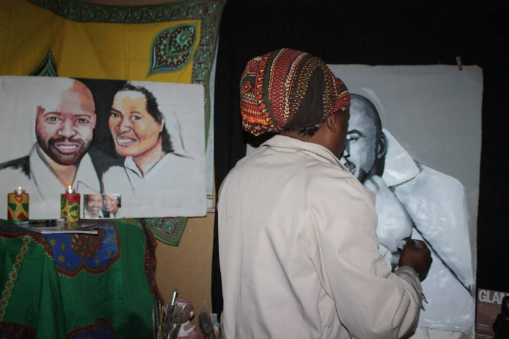 Knives out for Rasta after his Shona Ferguson painting