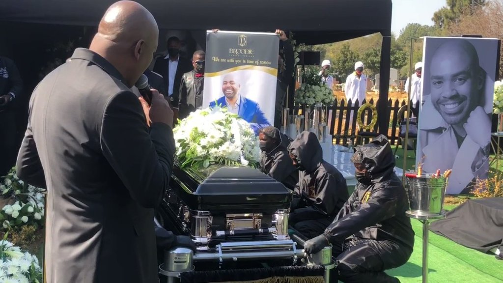 Video: Entertainment mogul Shona Ferguson laid to rest