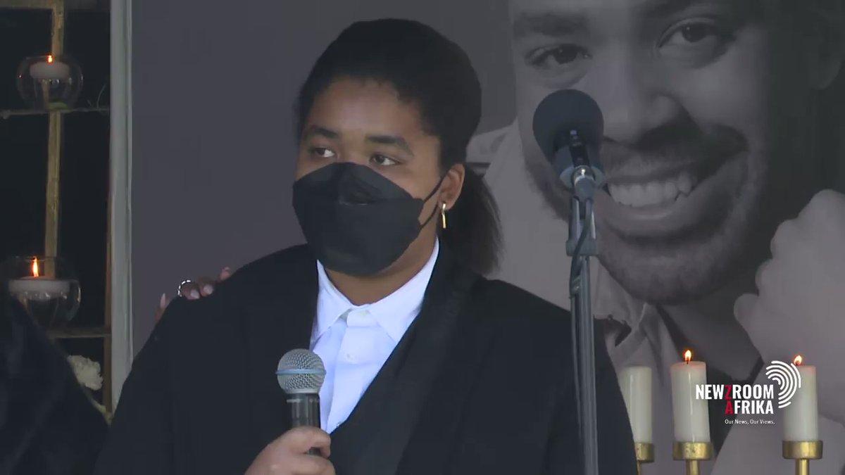 Watch: Shona Ferguson's daughter Alicia last tribute to her father
