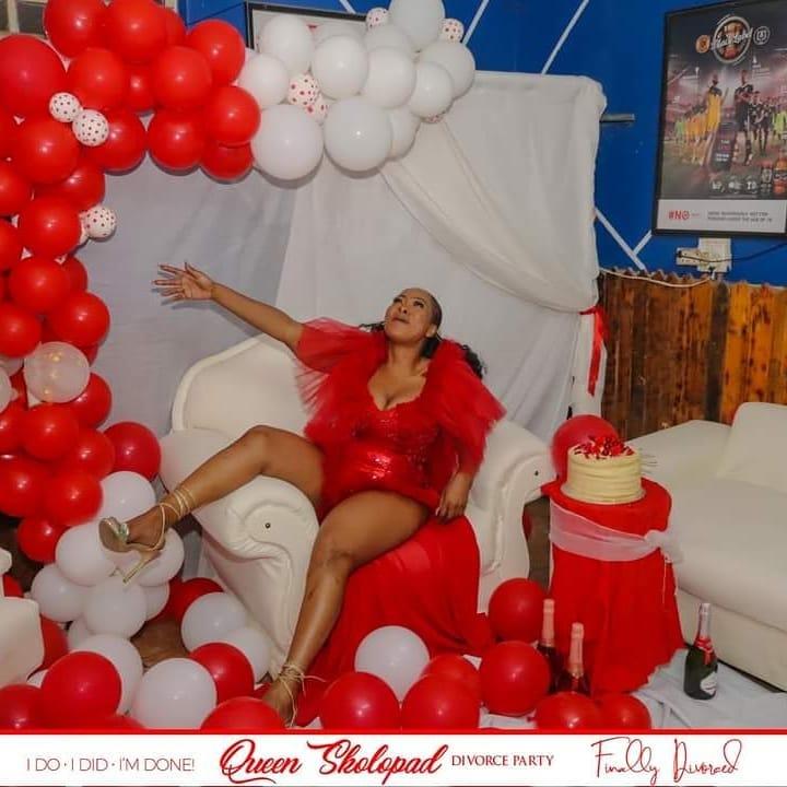 Photos: Inside Skolopad's divorce party