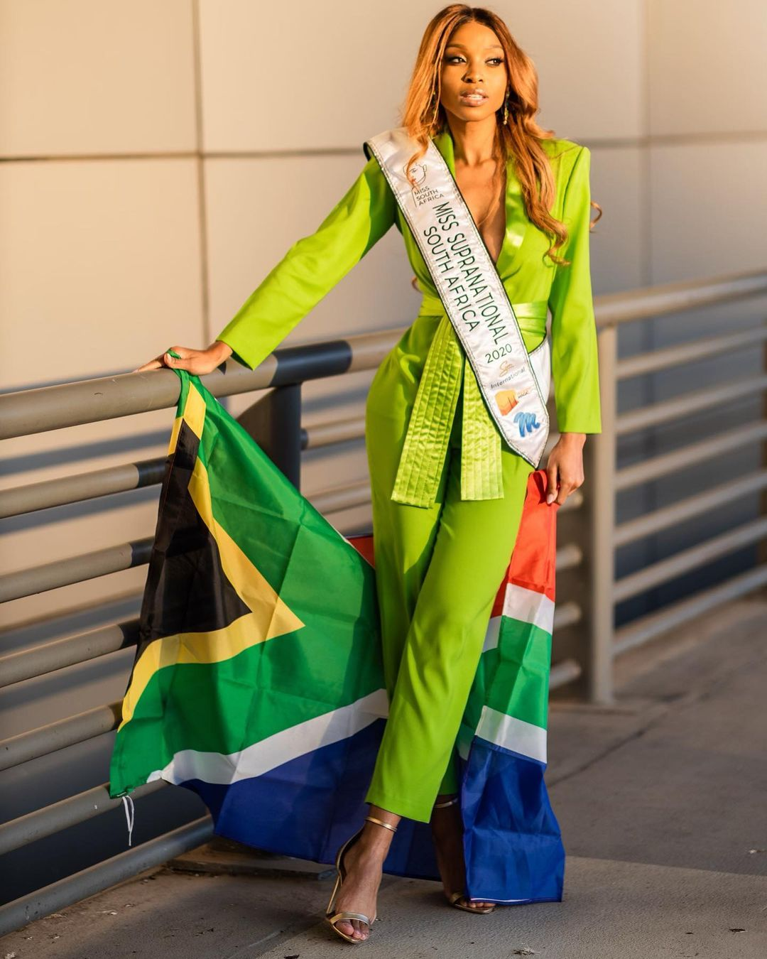 Miss Supranational SA Thato Mosehle off to Poland with Zonzi's goodluck charm